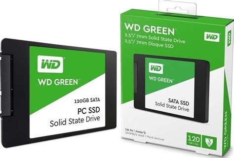 Ssd 120gb Wd Green Sata 3 western digital 120gb green sata iii 2 5 inch ssd