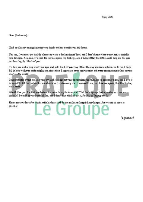 Exemple De Lettre Famille Lettre D Amour En Anglais Pratique Fr