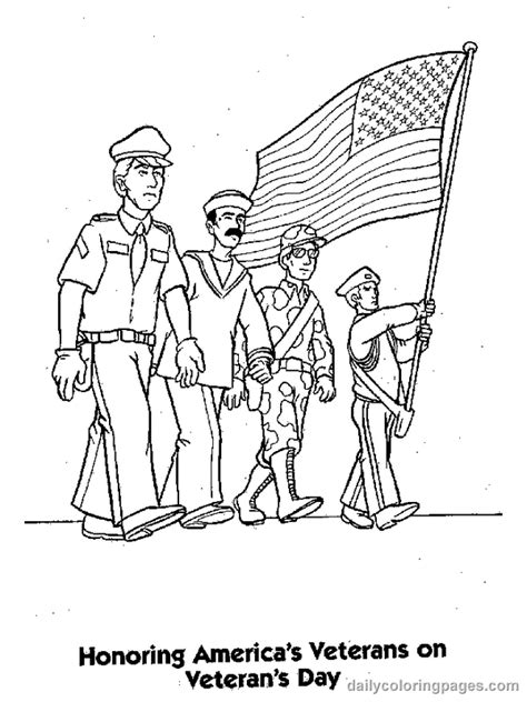 veterans day coloring page to print enjoy utah veterans day activities for kids