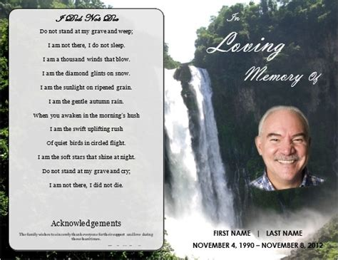 28 funeral invitation templates free sample example format