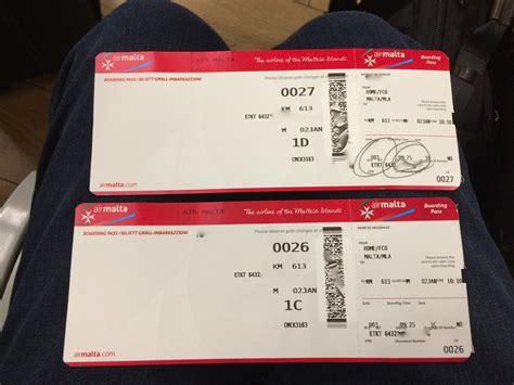 A Ticket To Malta air malta to malta sfo777