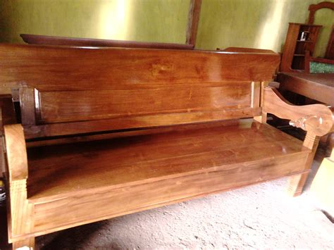 Kursi Sofa Dari Kayu jual kursi panjang dan tebal ukir dari kayu jati asli