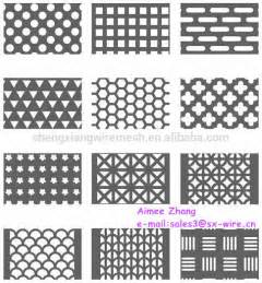 perforated sheet metal decorative metal perforated