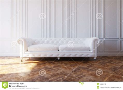 Free House Floor Plans white luxury leather sofa in classic design interior stock