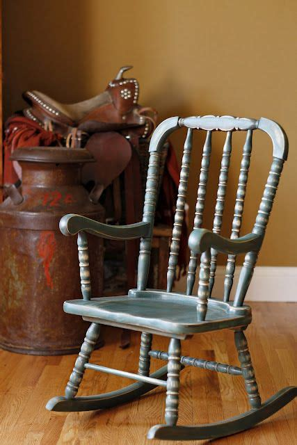 refinish wood rocking chair how to refinish a chair to make it look weathered