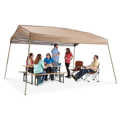 Personal Shade Canopy Z Shade Multi Purpose 12x14 Portable Shelter 623221