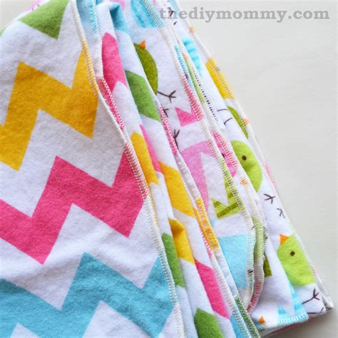 How to Finish Baby Receiving Blankets with a Serger   The