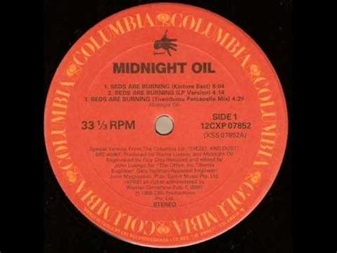 Midnight Beds Are Burning Lyrics by Midnight Beds Are Burning