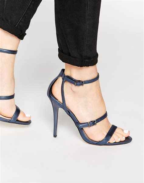 sandaler c 1 9 21 navy blue sandal heels ha heel