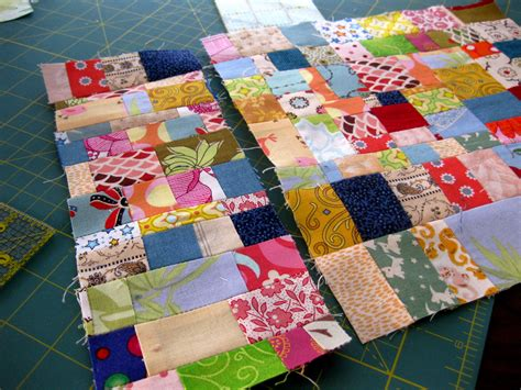 Scrap Patchwork - tutorial scraptacularity part i working with on grain