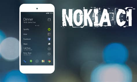 news mobile nokia c1 a new android smartphone