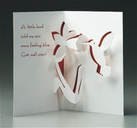 Get Well Soon Pop Up Card Template by 17 Best Images About Kirigami On 3d Cards
