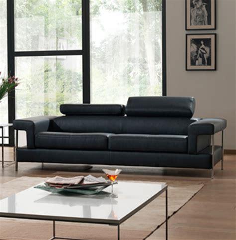canapé sirius salon avec canape noir