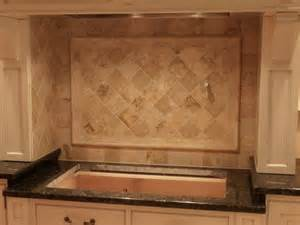 travertine backsplash kitchen kitchen