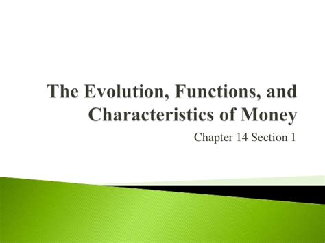 Chapter 14 Section 1 by Economics Chapter 14 Section 1