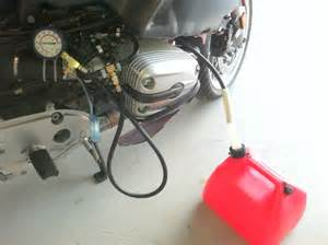 r1150rt fuel tank hose repair and filter service