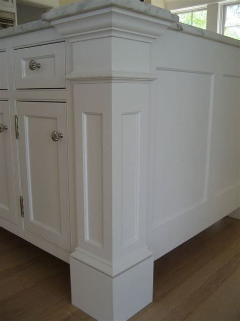Kitchen Island Molding by Harvard Ma Custom Build Frame To Finish Traditional