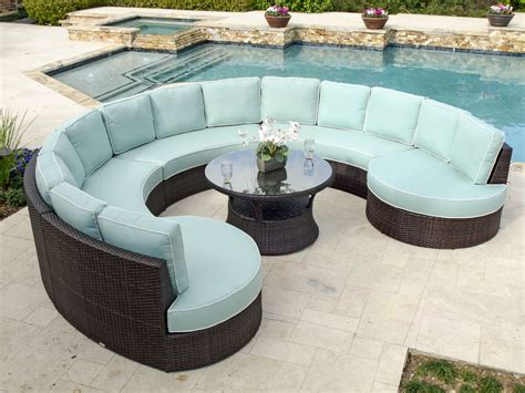 Circular Outdoor Furniture by How To Choose Circular Patio Furniture Outdoor Decorations