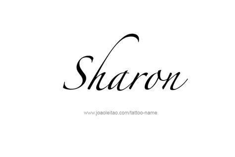 sharon tattoo designs name designs