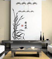 asiatische wohnkultur asia wandschablonen quot bilder quot f 252 r die w 228 nde