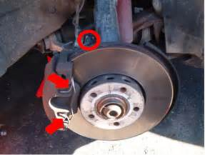 audi a4 b5 changing front brake pads and discs