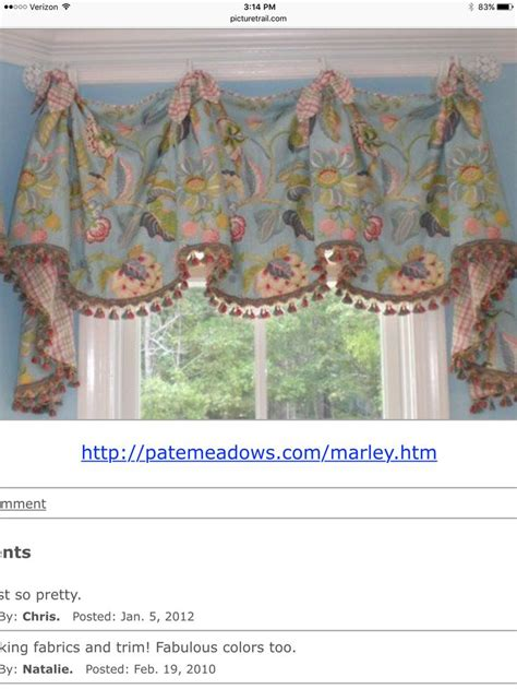 Pate Valances 1000 images about cornices and valances on
