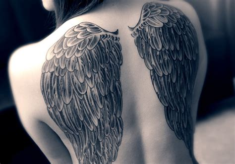 cute angel wings tattoo designs 25 magical wing designs creativefan