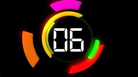 مؤقت داخل الشريحة لعرض البوربوينت تعليم لأجل قطر Powerpoint Clock Countdown