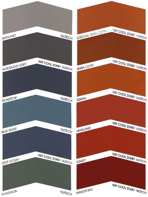Roof Tile Colors Roof Paint Colours Crowdbuild For