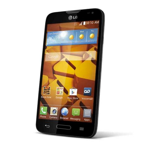 lg realm boost mobile android phone cheap phones