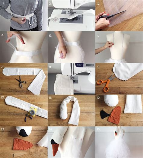 How To Make A Paper Costume - bjork swan dress costume tutorial a beautiful mess