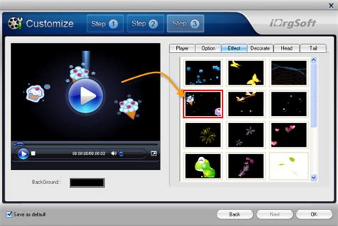 Step By Step Convert Video To Flash Using Flash Web Video Creator Flash Player Website Templates
