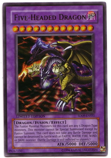 Five Headed Ultra Yugioh Five Headed Drago A 5 Teste Ultra