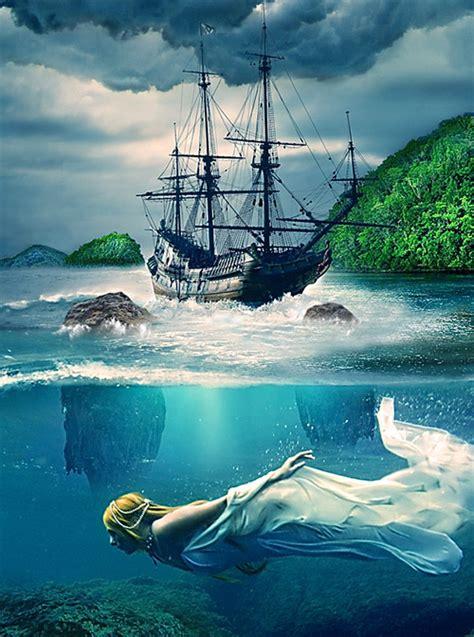 underwater pattern photoshop a set of helpful underwater photoshop tutorials naldz