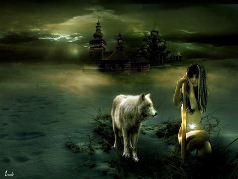 imagenes goticas de lobos la bruja del p 225 ramo los cuatro elementos