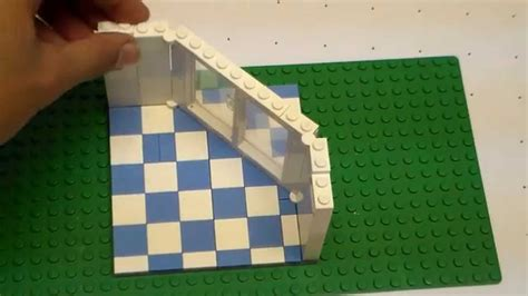 lego roof tutorial lego angled wall tutorial youtube