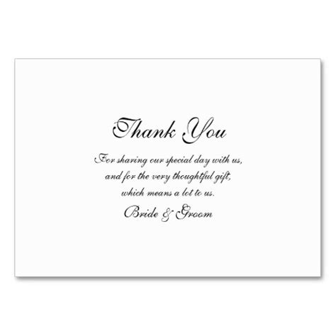 business ideas wedding thank you cards template simple