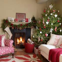 Christmas Living Room 5 Inspiring Christmas Shabby Chic Living Room Decorating