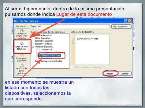 tutorial de powerpoint 2010 hipervinculos edwin padron power point entrada