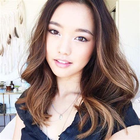 hair color for asian best 25 balayage asian hair ideas on asian