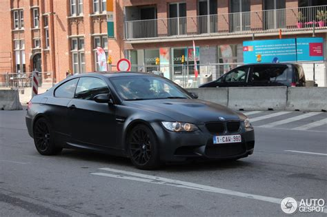 BMW M3 E92 Coupé Frozen Black Edition   25 July 2013
