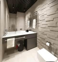 rev 234 tement mural salle de bain en naturelle grise