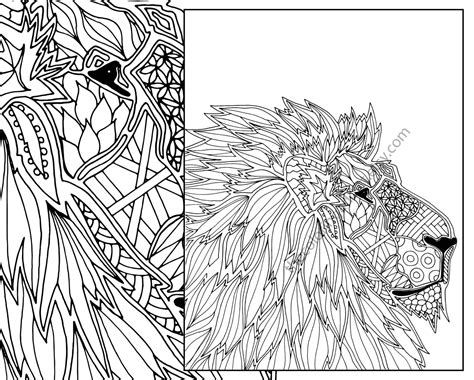 printable animal coloring pages pdf printable zentangle patterns free archives similarpages