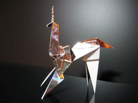 origami blade runner blade runner unicorn origami prop by furthershore on