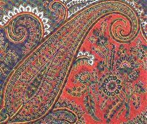 paisley pattern history this website describes the history of the paisley design