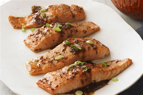 entrees at costa azul seafood maple balsamic salmon fillets recipe kraft canada