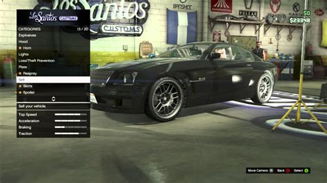 find los santos customs  sell  car  gta