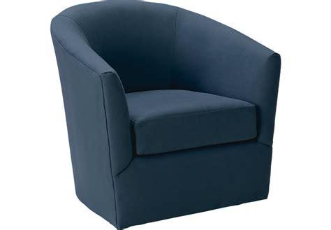 brynn indigo swivel chair chairs blue