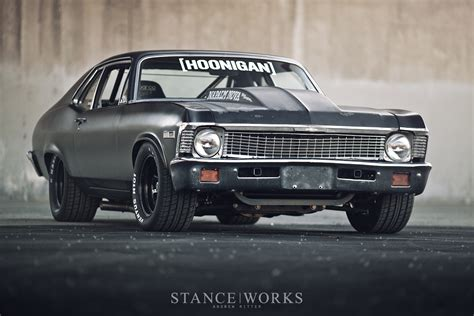 hoonigan mustang kill all tires brian scotto s 1972 chevy napalm nova