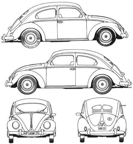 volkswagen bug drawing volkswagen beetle 1952 art ad photo pinterest